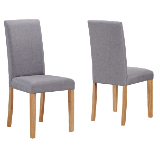 Upholstered Dining Chairs.