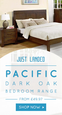 Pacific Dark Oak Bedroom Range