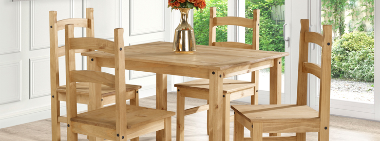 Pine Dining Room Furniture