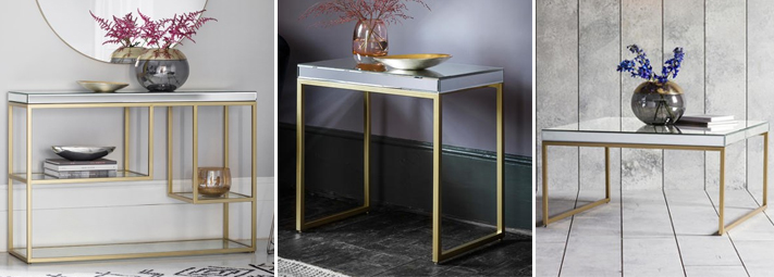 Pippard Mirrored Collection