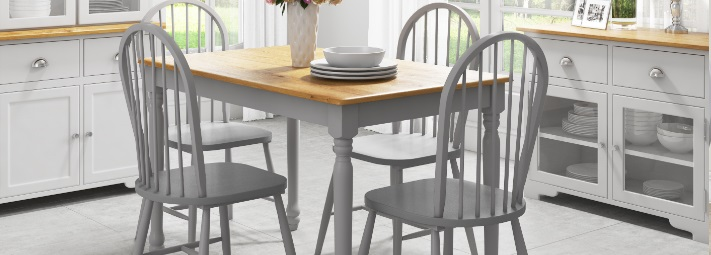 Grey Dining Collections. Rhode Island Collection