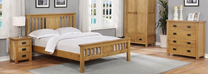 Oak Bedroom Collections   Furniture 123