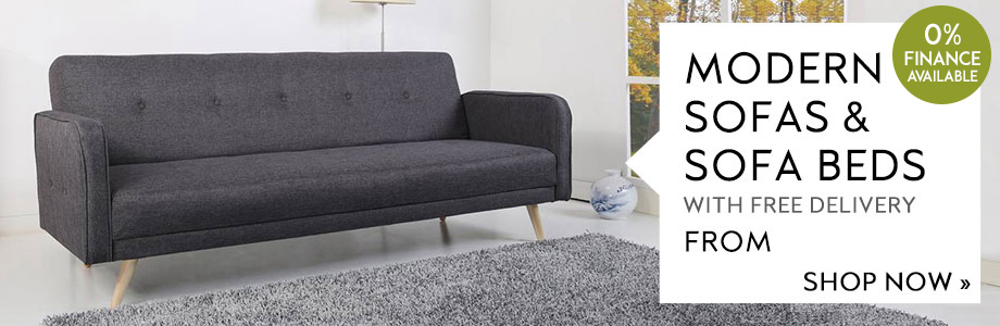 Modern Sofas and Sofa Beds