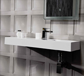 Wall Mounted bathroom Basins.