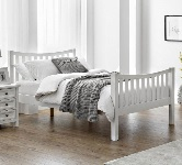 White Double Beds