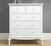 White Chests of Drawers