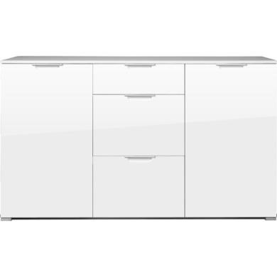 Germania event large white high gloss sideboard furniture123 for Sideboard unter 100 euro