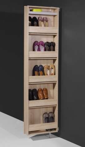 1189156 Rotating Shoe Cabinet open