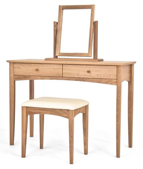 Bentley designs alba hoxton oak dressing table furniture123 for Furniture 123 code