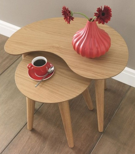Oslo nest of tables lifestyle image