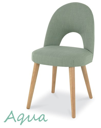 Aqua Oslo Oak chair