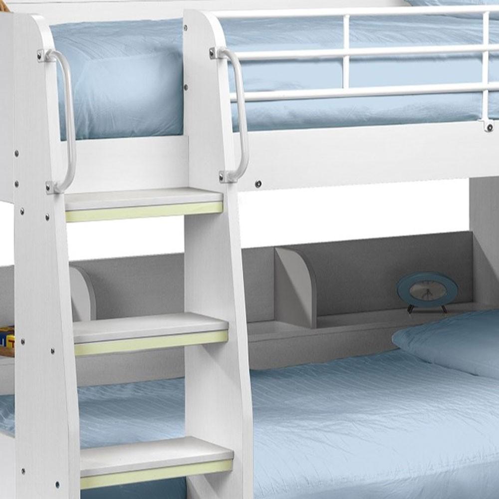 Julian Bowen Domino White Bunk Bed Furniture123