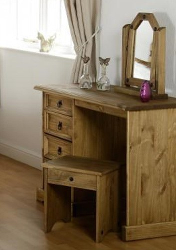 seconique original corona pine dressing table stool. Black Bedroom Furniture Sets. Home Design Ideas
