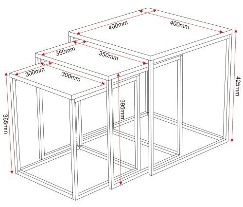 FOL065094 Table dimensions