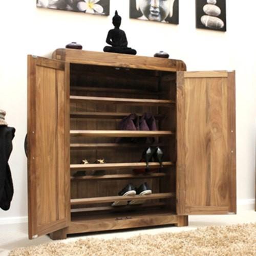 Shiro Open Shoe Cabinet