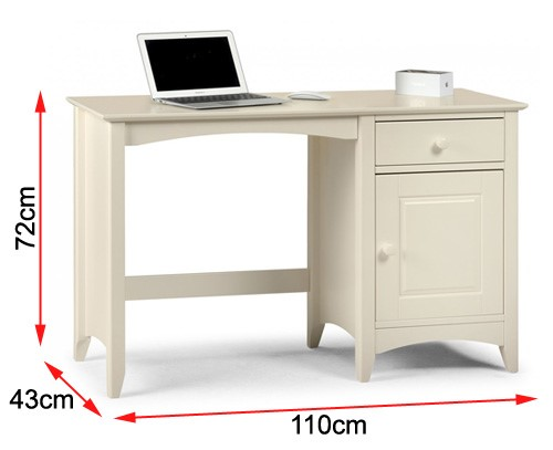 FOL077640 Cameo desk dimensions