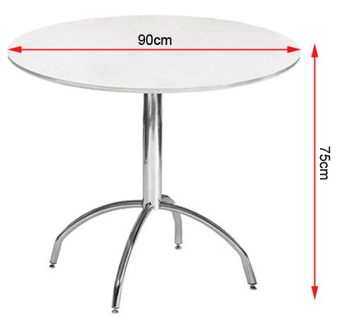 Mandy Dining table dimensions