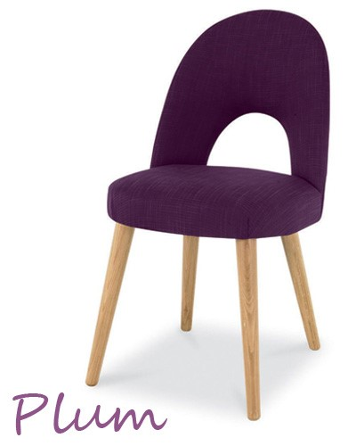 plum Oslo Oak chair
