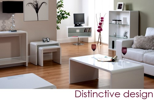 Toscana White room set - World Furniture Toscana Nest Of Tables In White Furniture123