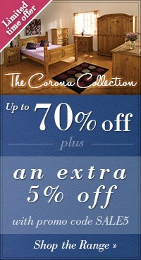 Save an extra 5% on the Corona Collection