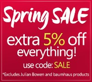Extra 5% off everything - code SAVE