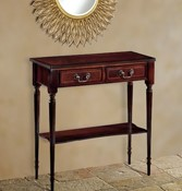 Mahogany Console tables