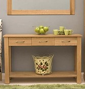 Oak Hall Console tables